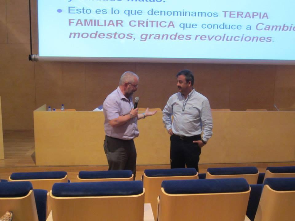 Raul Medina y Juan Luis Linares